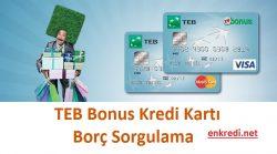 teb bonus borç