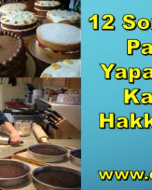 12 Soruda Evde Pasta İşi Yaparak Para Kazanma Hakkında Her Şey
