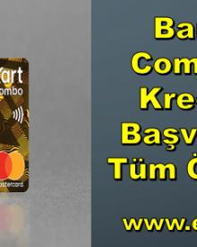Bankkart Combo Gold Kredi Kartı Başvurusu ve Tüm Özellikleri