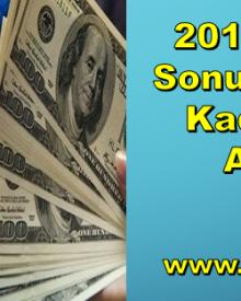 2019 Yılı Yıl Sonu Dolar Ne Kadar Olur Analizi