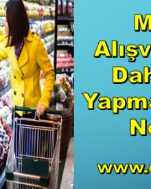 Market Alışverişlerini Daha Ucuz Yapmanın 5 Püf Noktası