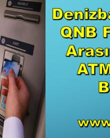 Denizbank, TEB ve QNB Finansbank'ta Ücretsiz Ortak ATM Dönemi